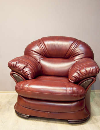 Leather sofa and chair  Stock Photo - 10417545