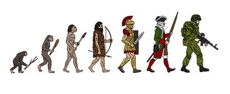 human evolution: evolution