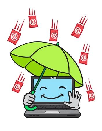 anti virus: E-mail
