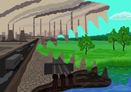 contaminacion del agua: ecología