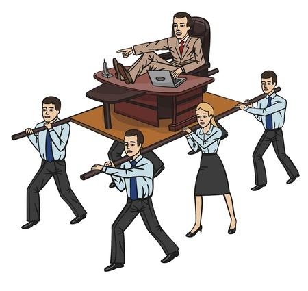 travesty: Boss Illustration
