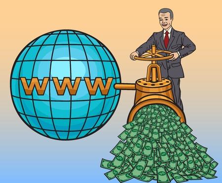 banker: Online business