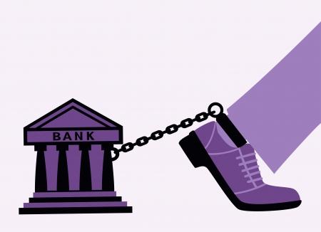 incarceration: Bank fetters