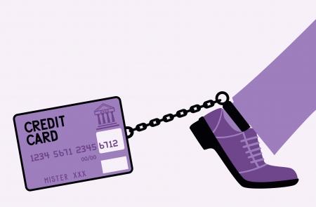 incarceration: Crebit card fetters