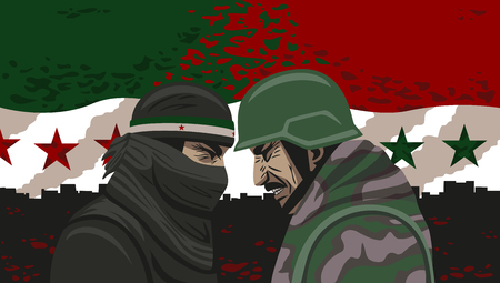 bloodshed: La guerra de Siria Vectores
