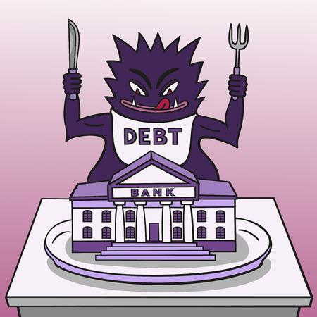 travesty: Monster debt
