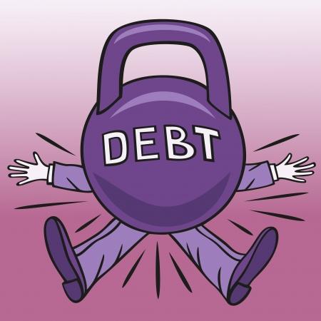 빚: 하드 부채