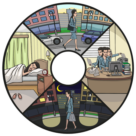 publicist: Workaholic woman s life