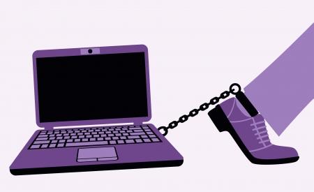 incarceration: Locura ordenador puede convertirse en una adicci�n da�ina Vectores