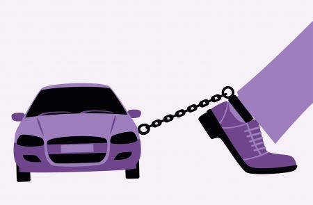 incarceration: Conductor Vectores