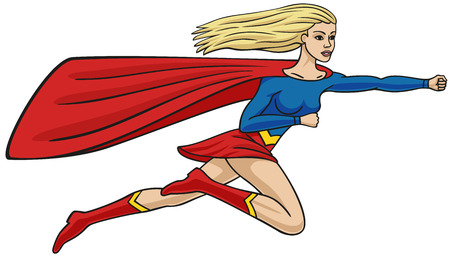 she: Super-girl