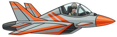 jet fighter: Supersonic aircraft  Illustration