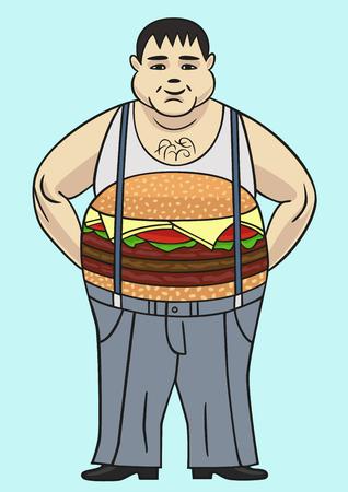 the fat man: Fat