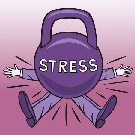 Stress. Illustration
