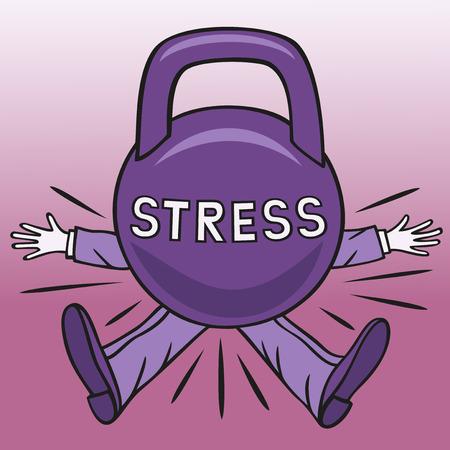 소요: Stress. 일러스트