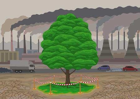 defilement: The last tree.