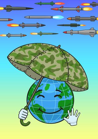 umbel: Missile defense. Illustration