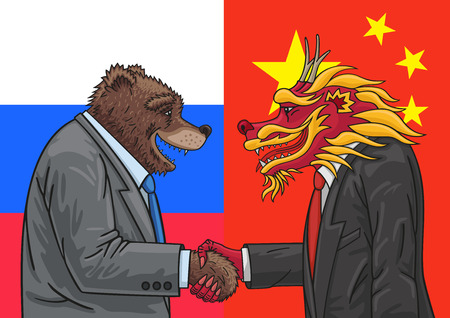 Russian Chinese alliance.