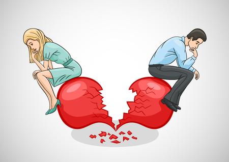 Złamane serce i zaburzenie miłości.