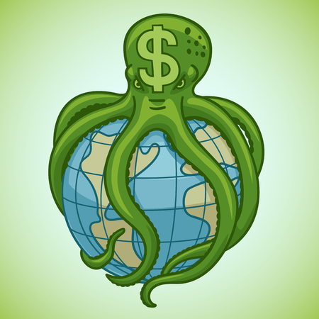 The dollar as a octopus entangled the entire world financial system.