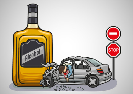 Alcoholic beverages can lead to tragedy on the roads and to unnecessary deaths.