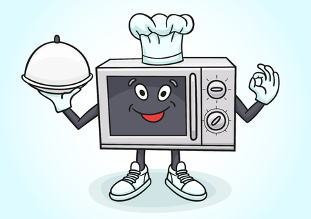 The microwave chef will prepare any dish for you.