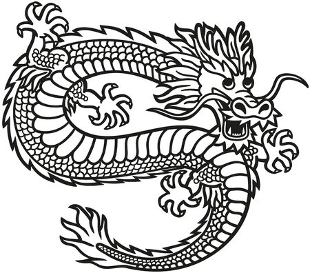 The dragon in China is a symbol of wisdom kindness and strength.