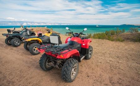 atv: ATV on the beach