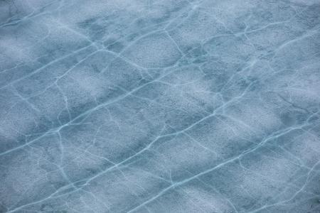 interstice: Patterns on ice of Baikal lake