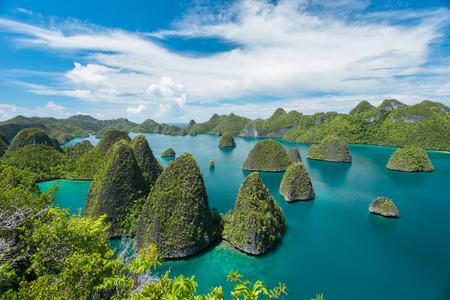 uninhabited: Beautiful uninhabited island in Papua