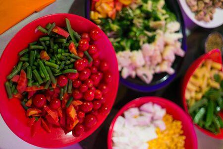 indian meal: Festive meals in Indian wedding. Vegetarian cuisine