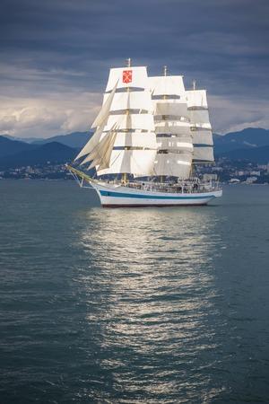 Frigate Mir in the Black Sea
