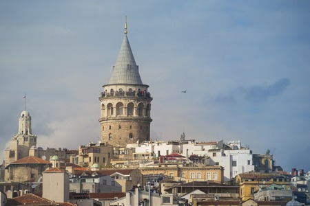 Galata Tower in Istanbul in October 2016