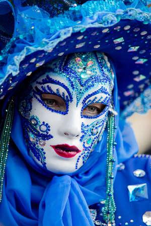 Traditional carnival mask in Venice Stock Photo - 18145352