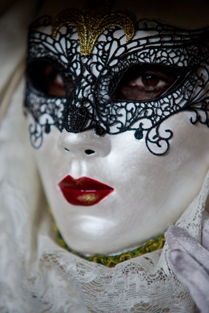 Traditional carnival mask in Venice