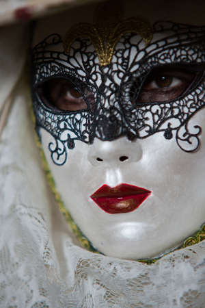 Traditional carnival mask in Venice
