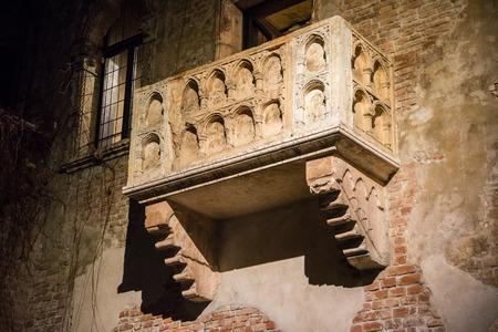 romeo and juliet: Balcony Of Juliet - Verona