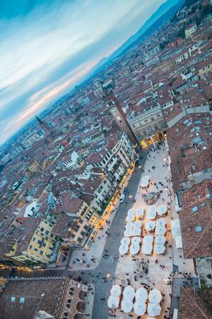 verona: Piazza delle Erbe, Verona, Italy