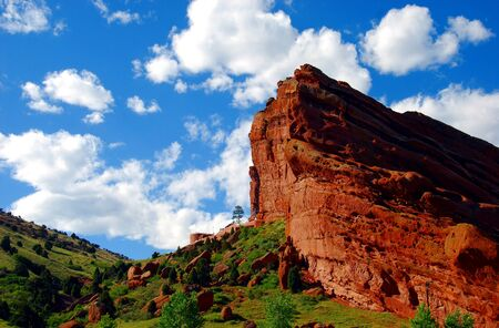 Red Rocks Park Stock Photo