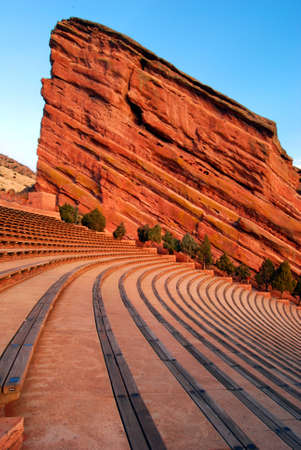 red rocks: Amphitheater at Red Rocks Park