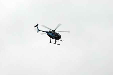 motion blur: Helicopter in Flight with Motion Blur