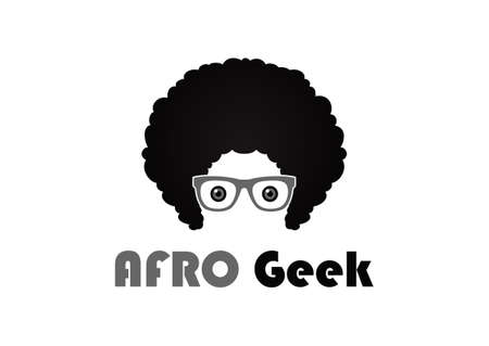 Afro Style Design Template Flat Style Design Vector Illustration