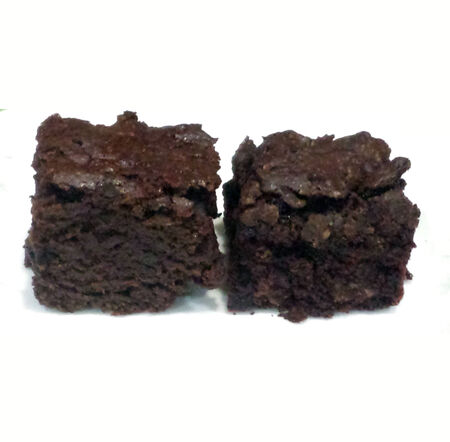 Decadent brownies are delicious dessert
