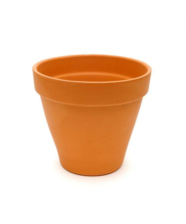 cotta: Terra Cotta Pot Stock Photo