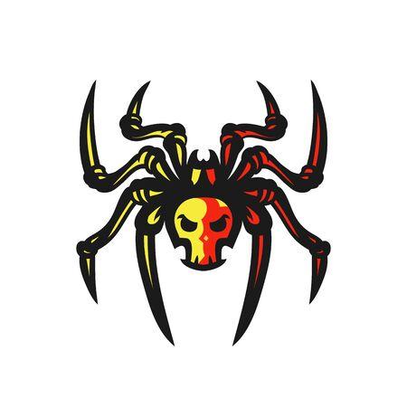 Spider vector logo illustration 向量圖像