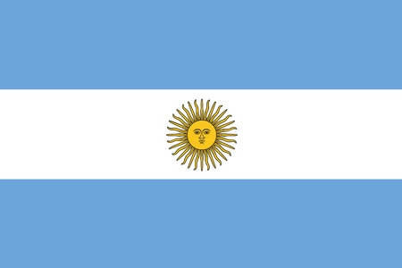 An illustration of the flag of Argentina