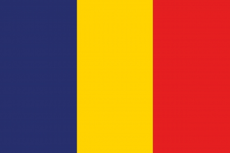 An illustration of the flag of Romania