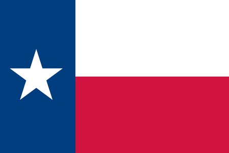 texas: The Flag of the American State of Texas