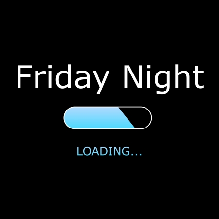 quote: LOADING Friday Night Illustration