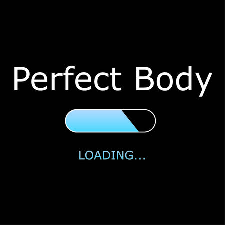 perfect body: Illustration - Loading Perfect Body